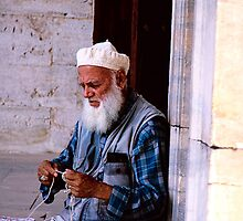 Blue Mosque Knitting by MacLeod