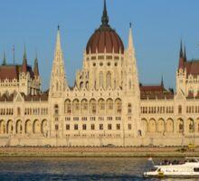 Budapest Parliament Building Sticker