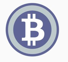 Bitcoin Blue by CryptoCoinTees