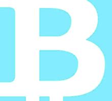 Bitcoin Blue Lite Sticker