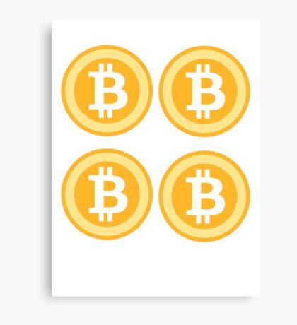 Bitcoin 4some Canvas Print