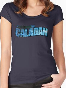 Caladan Tourism Tee Women's Fitted Scoop T-Shirt