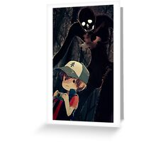 Hide Behind Greeting Card