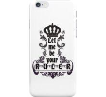 Let me be your ruler - Lorde Royals Lyrics iPhone Case/Skin