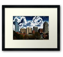 Raleigh Abstract Framed Print