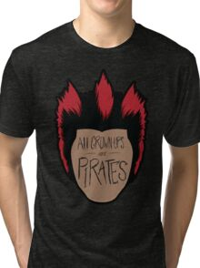 All Grown-Ups  Tri-blend T-Shirt