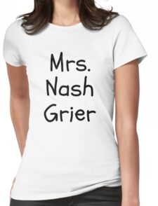 Mrs. Nash Grier Womens Fitted T-Shirt