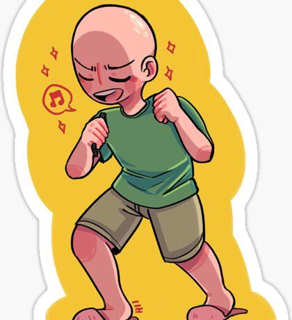 betcha never seen an egg sing Sticker