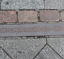 Berlin Wall by Katherine Hartlef