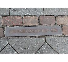 Berlin Wall Photographic Print