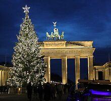 Berlin Door by Katherine Hartlef