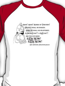 Arise riders of Théoden! v2 T-Shirt