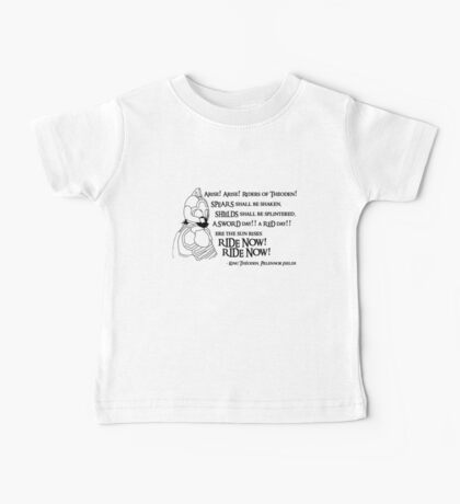 Arise riders of Théoden! v2 Baby Tee