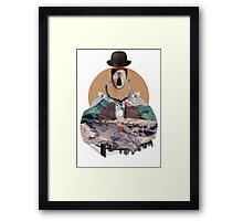 Its all In The Mind Framed Print