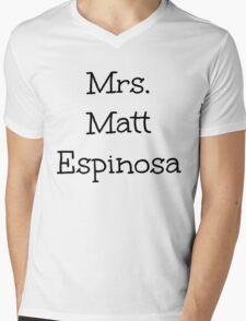 Mrs. Matt Espinosa Mens V-Neck T-Shirt