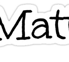 Mrs. Matt Espinosa Sticker
