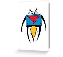 DigiDoodles: Rockets Greeting Card
