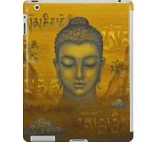 Buddha. The message iPad Case/Skin
