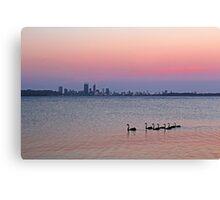 Swan River Perth Western Australia  Canvas Print