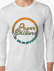 Paper Gliders (Color Design) Long Sleeve T-Shirt