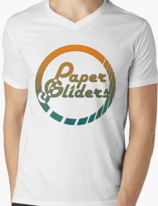 Paper Gliders (Color Design) Mens V-Neck T-Shirt