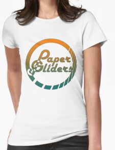 Paper Gliders (Color Design) Womens Fitted T-Shirt