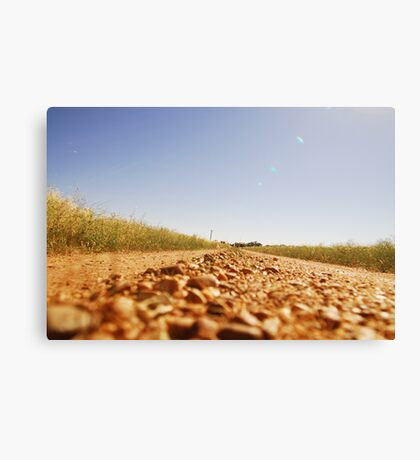 Plain View Road Canvas Print