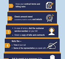 An Infographic on Legal Tips for Disputing an Incorrect Bill by Infographics
