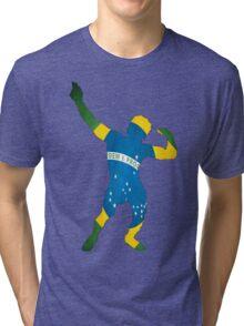 Zyzz - Brazil Tri-blend T-Shirt