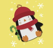 Holiday Penguin One Piece - Short Sleeve