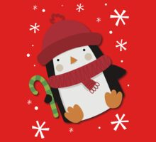 Holiday Penguin Kids Clothes
