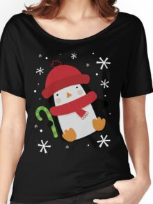 Holiday Penguin Women's Relaxed Fit T-Shirt