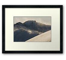 Japanese alps Framed Print