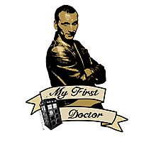 Doctor Who - My first Doctor (Who) Ninth 9th Christopher Eccleston Photographic Print