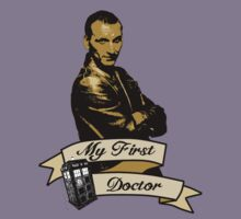 Doctor Who - My first Doctor (Who) Ninth 9th Christopher Eccleston Kids Tee