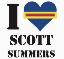 I Love / Heart Scott Summers Kids Clothes