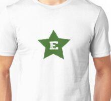 Verda Stelo Kun E Unisex T-Shirt