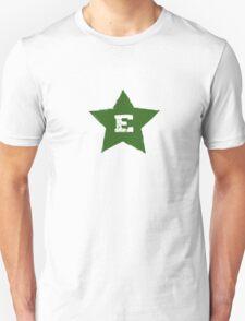 Verda Stelo Kun E T-Shirt