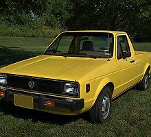 1980 VW Rabbit Diesel Pickup Truck by TeeMack