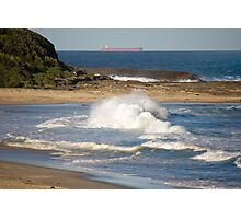 Natures Raw Power - Catherine Hill Bay Photographic Print