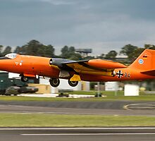 Canberra B.2 99+34 taking off at Fairford by Colin Smedley
