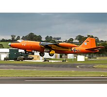 Canberra B.2 99+34 taking off at Fairford Photographic Print