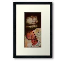 BABY BOY BENJAMIN Framed Print