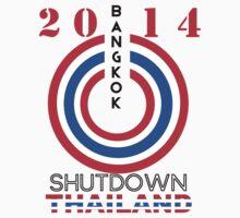 Bangkok Shutdown 2014 by FrogusIV