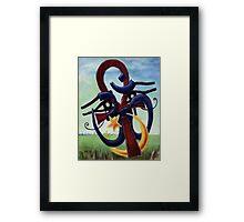 A Portrait of God? Framed Print