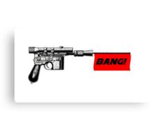 "DL-44 ""Bang!"" Canvas Print"