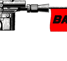 "DL-44 ""Bang!"" Sticker"