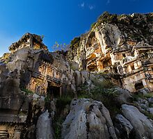 Lycian Ruins at Myra: Demre, Turkey by thewaxmuseum