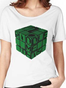 Riddle's Cube Women's Relaxed Fit T-Shirt