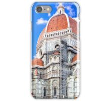 Santa Maria del Fiore cathedral in Florence iPhone Case/Skin